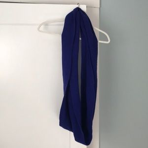 J.CREW | royal blue scarf